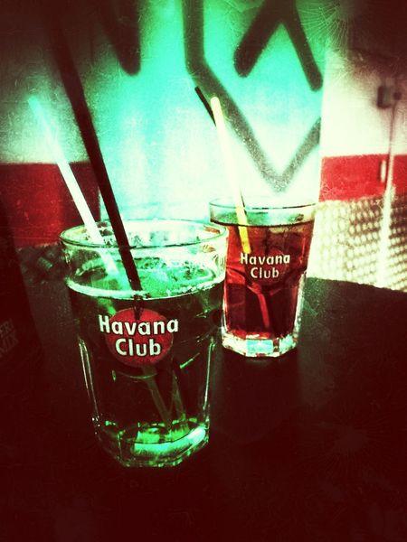 Drink Rhum Night Life Friends