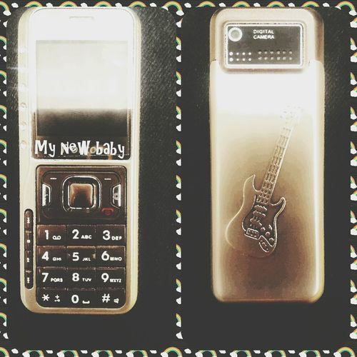 My new baby.. Mini phone.. haha.. Working
