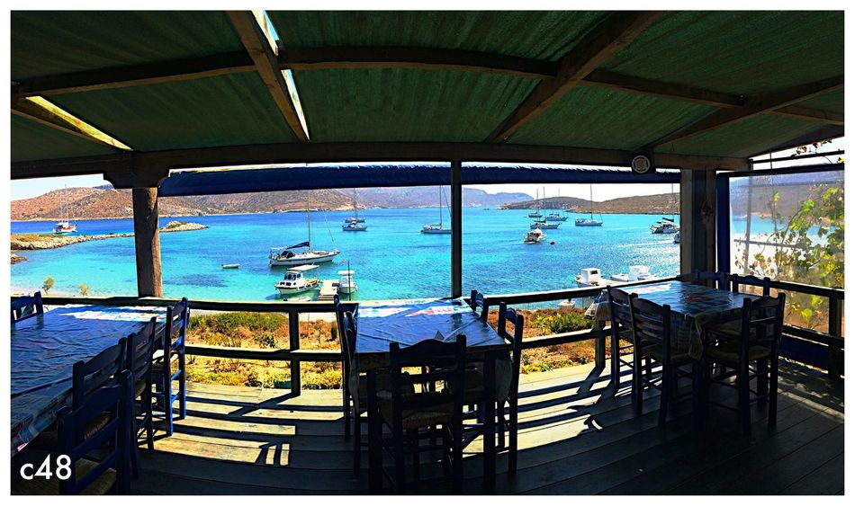 Leros, a tavola Beach Leros Island Leros Greece Panoramic Sea Food Sailing EyeEmNewHere EyeEm Best Shots - Landscape