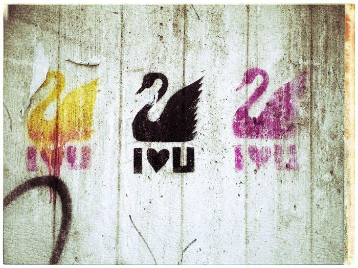 Streetart Frankfurt Graffiti i ❤️u