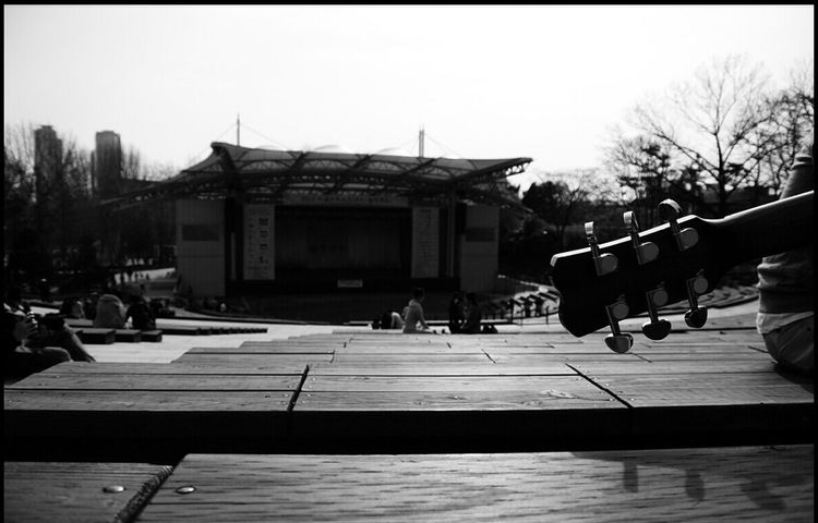 Concert Hall  B&w Photo Mono Photo Guitar @korea seoul nung-dong @Nikon1 J1 / 10-30mm f3.5-5.6
