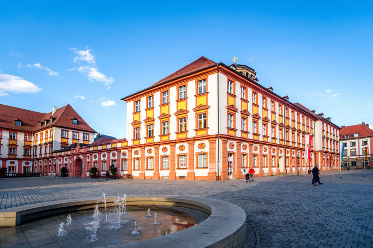 Bayreuth, Germany Bayreuth City Cityscape Market Historical Building Architecture Bavaria Franken No People Nobody Day Daylight