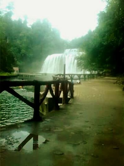 Fog Outdoors Water Philippines' the little Niagara Falls.