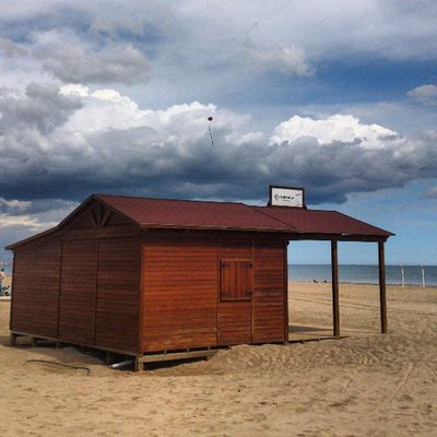 Playa Beach Arena Sand Casa House Madera Wood Springmycity Valenciagram