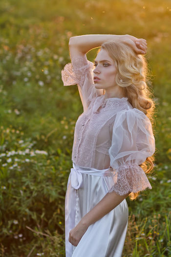 Bestselling Photos Blond Hair Bridge Editorial  Editorial Fashion Editorialphotography Nature Portrait Summer Summertime Sunset Sunset_collection Wedding Wedding Photography White Dress Cover Editorial  Book Cover Magazine Cover Cover Magazine Magazine Cover Design