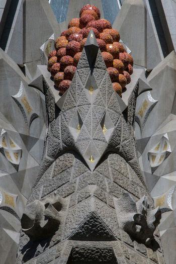 La Sagrada Familia (editorial) Architectural Detail Architecture Barcelona Building Exterior Cathederal Church Details Exterior Façade Gaudi Gaudi Cathedral Gaudì Architecture Work Gothic La Sagrada Familia Outdoors