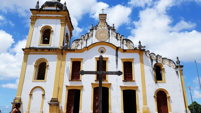 Igreja em São Gonçalo do Amarante Religion Architecture Cloud - Sky HUAWEI Photo Award: After Dark