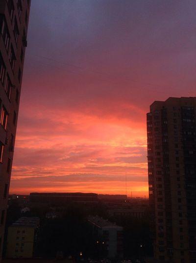 Небо в Реутове в 3 утра... Reutov Clouds And Sky Nofilter#noedit