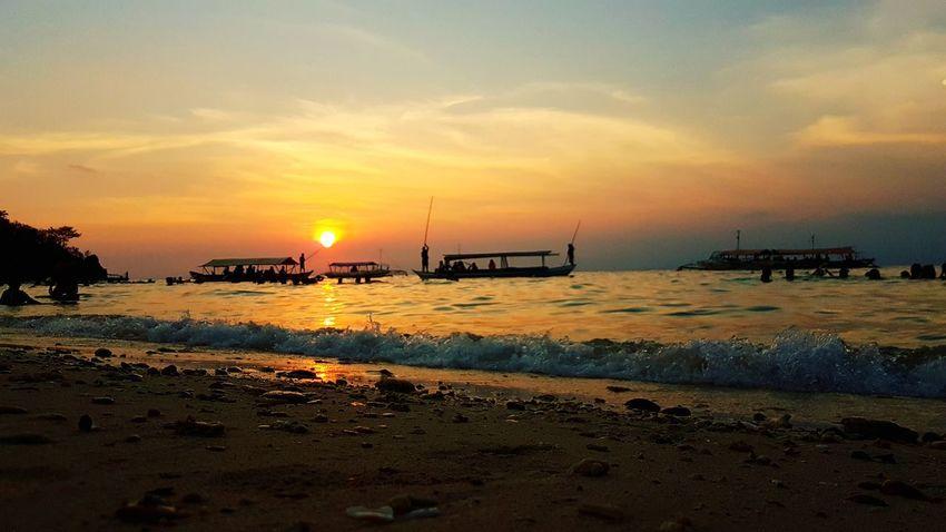 Sunset Beach Sun Summer2017 sunset