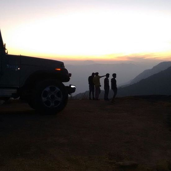 Myfriends myThar Morningvibes Hilltop without any Distination