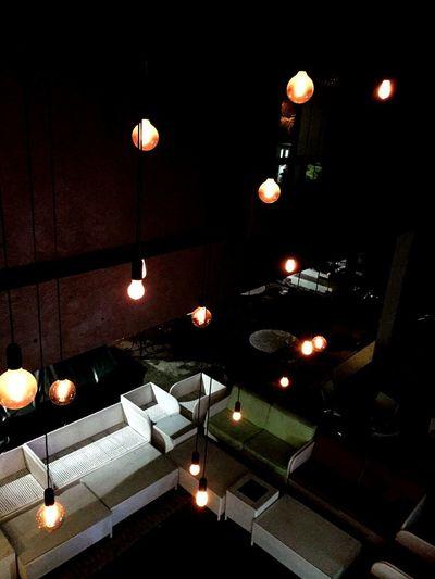 Illuminated City Hanging Lantern Lighting Equipment