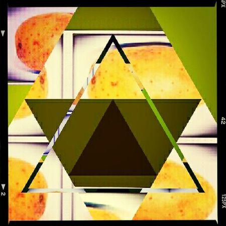 Triforce...potato Olivia Hanna Triforce Zelda art Chai Latte