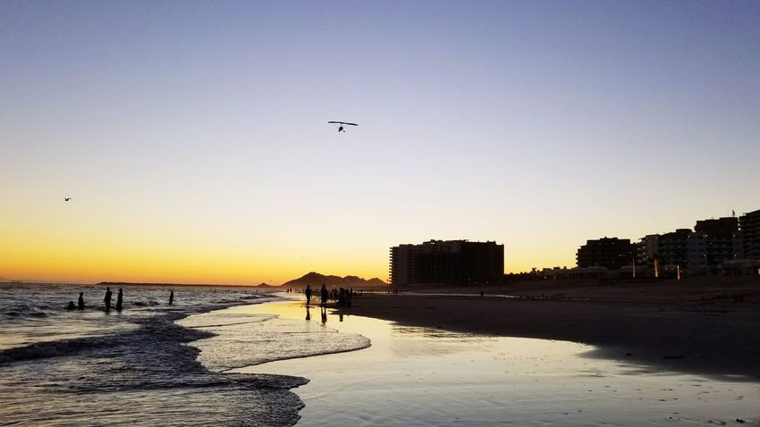 Flying Sand Beach Sunset Sky Clear Sky Nature Beauty In Nature Sea Rocky Point Puerto Peñasco Night Nature Water