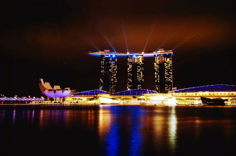 Singapore Marina Bay Sands Architecture View
