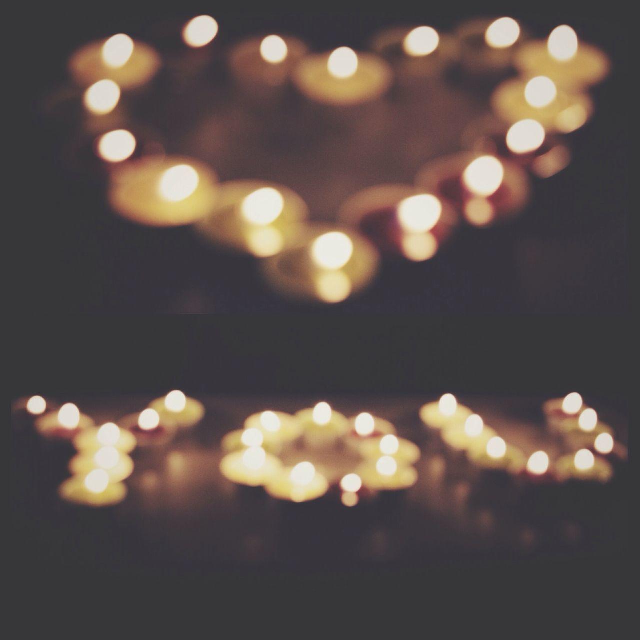 illuminated, glowing, lighting equipment, night, defocused, heat - temperature, no people, celebration, burning, light effect, flame, close-up, light bulb, backgrounds, outdoors, black background, diya - oil lamp