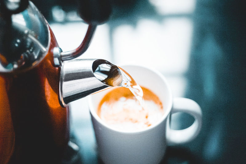 Coffee Food And Drink Drink Coffee - Drink Refreshment Cup Coffee Cup Mug Still Life Close-up Indoors  Freshness Non-alcoholic Beverage Kitchen Utensil Focus On Foreground Latte Breakfast Hot Drink Take A Break Relaxing Hot Water Instant Coffee Kettle Pouring Drinks
