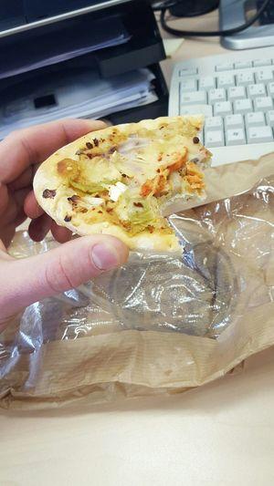 Eating Break Breakfast At Work Eating At Work Little Break Eat&work Food Togo Food Togo Pizza Focaccia Camera: Galaxy S6