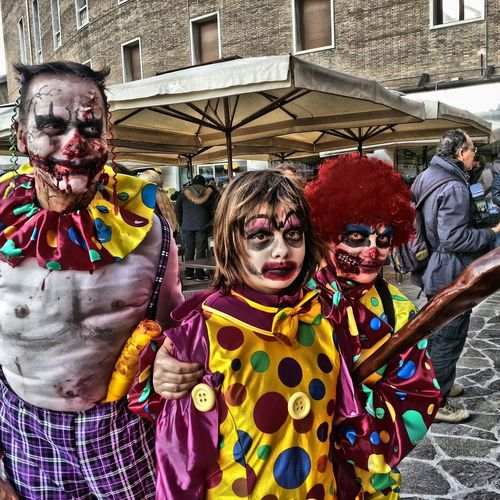 Zombie Zombiewalkvenice Zombiewalk  Zombiewalkvenezia Clown Clownzombie Clownkiller Pagliacci Makeup