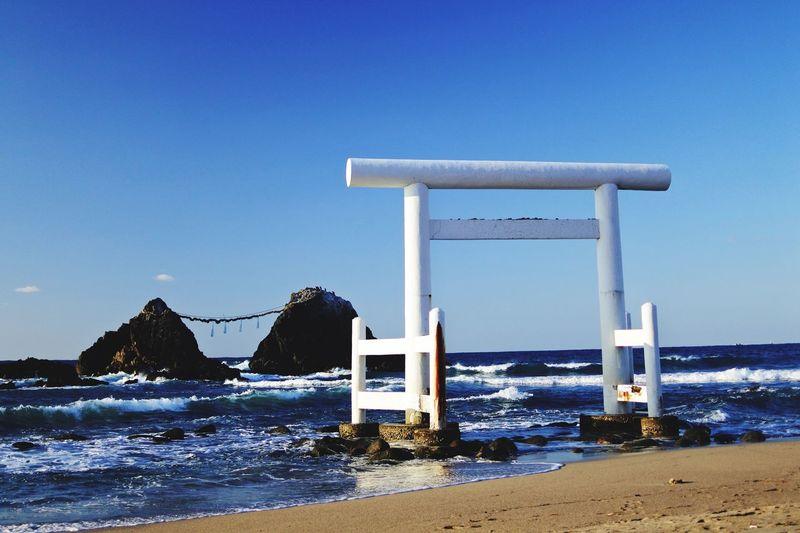 ビーチ 二見ヶ浦 糸島サンセット Water Beach Sea Cold Temperature Blue Nature Outdoors