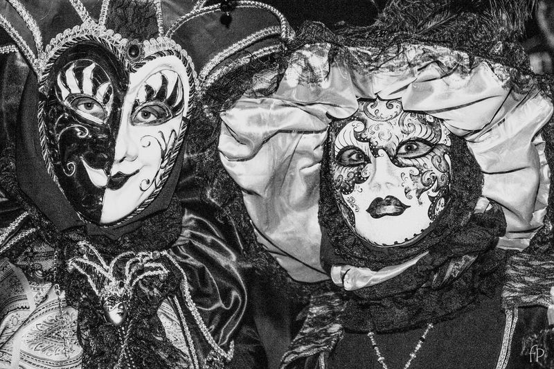 Carnival Streetphotography Contrast Black & White Carnival Art Venice, Italy Venice Mask - Disguise Venetian Mask Disguise Indoors  Close-up No People Day