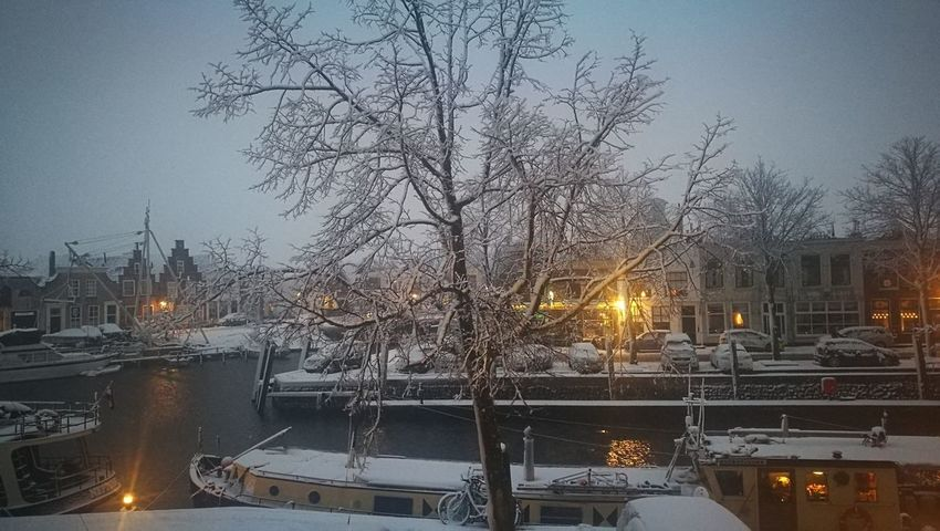Winter in the Brielle harbor, the Netherlands Winter Wonderland Winter Harbor Winter Boat Winter Ship Snowy Harbor Winter Snow Cold Temperature Snowing Car Illuminated Night Snowflake Christmas Bridge - Man Made Structure Sky Frozen Christmas Decoration City Outdoors