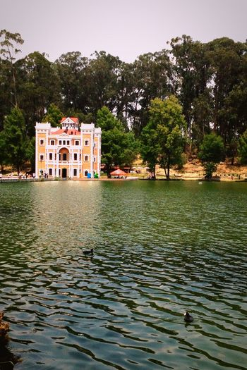 Mexico Puebla Travel Nature Meets Man Duck Peace Forest Lakes