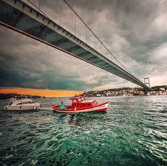 Popular Water Reflections Bridge Istanbul