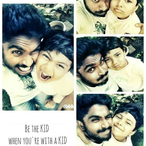 Be the kid When u r with kid With MyChweet Sister Hiba