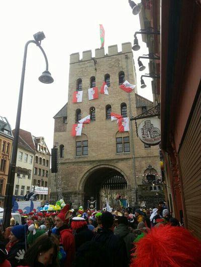 Rosenmontag 2013 In Köln