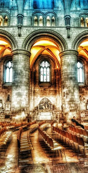 Walk around the Cathedral in Gloucester, England... Architecture Built Structure Arch Window Historic Travel Destinations History Arched Architectural Feature Interior Façade Building Interior The Magic Mission First Eyeem Photo Colorful Place Of Worship Church England🇬🇧 Hdr Snapseed Miles Away