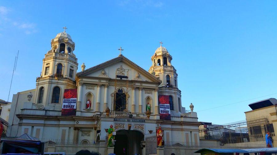 Architecture Travel Destinations Sky Outdoors Roman Catholic Church Huwagkangmagnakaw Manila Philippines Samsungphotography Samsung Galaxy S5