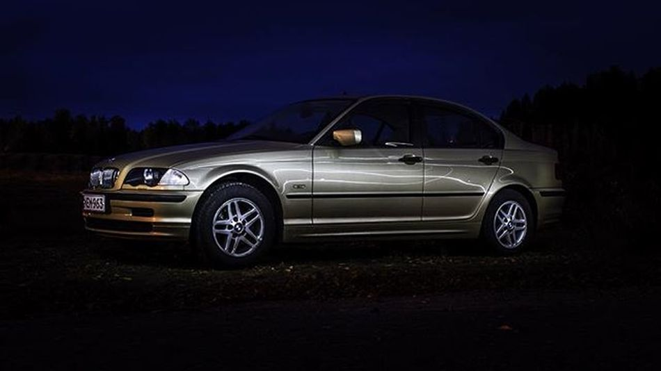 When I'm old I want to remember the golden memories with this golden BMW Bmw BMWstories Kultakela E46 3series