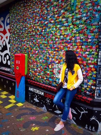 Amsterdam Creative Bright Colors My Mood I'll Be Back