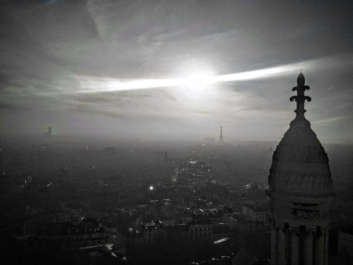 Paris Haze B&w