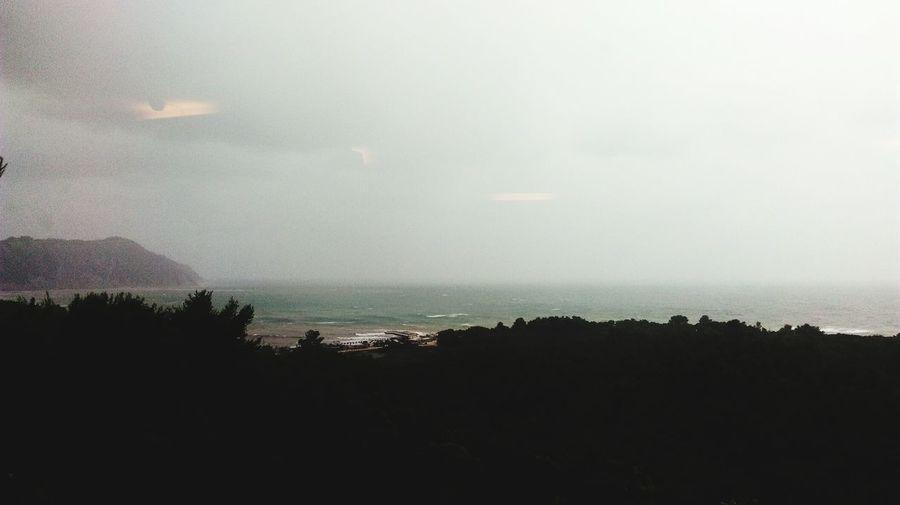 Window Sea Go To The Sea Portonovo Conero Clouds And Sky Temporale
