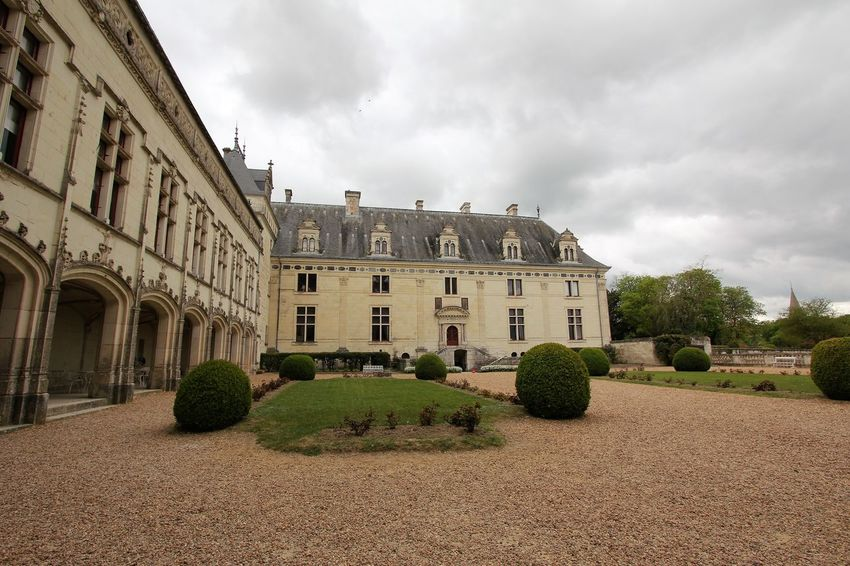 Chateau de Brézé Architecture Building Exterior Built Structure Building Cloud - Sky Sky Plant Nature Tree Residential District Mansion Day Window House No People Outdoors Grass Château De Brézé French Castle French Palace