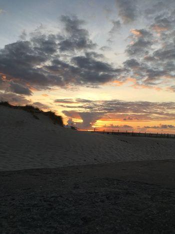 Summertime IPhone X IPhone X Photography Sunbeam Baltic Sea Sunset Sky Beach Land Scenics - Nature Cloud - Sky Sea Beauty In Nature Tranquility Tranquil Scene Idyllic Horizon Over Water Nature Orange Color Non-urban Scene Outdoors Water Horizon Sand No People