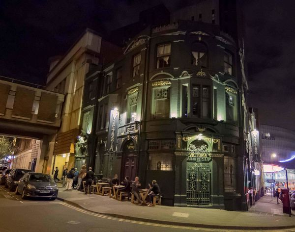 Architecture Building Exterior Illuminated Built Structure Travel Destinations City Outdoors People Night Bar Pub Alcohol Sky