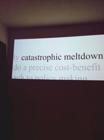 Catastrophic Financial Deregulation