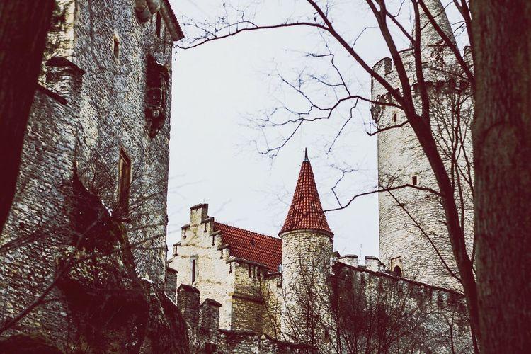 Castleonthehill Castle Kokorin Czech Republic No People Built Structure Architecture Medieval