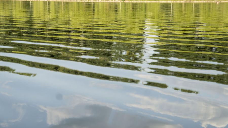 Full frame shot of rippled water