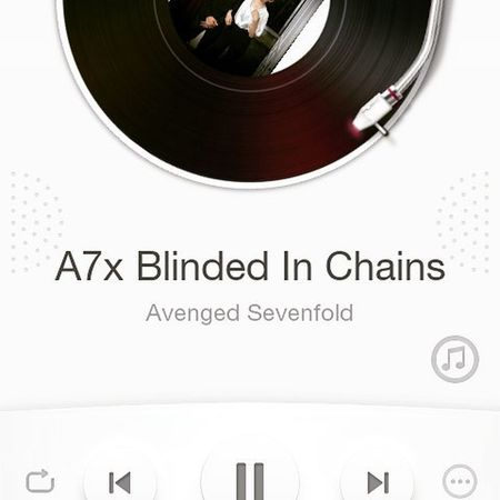 A7x Blindedofchains