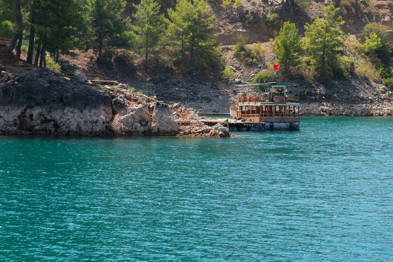 Alanya Boat Canyon Eye4photography  EyeEm Best Shots EyeEm Gallery EyeEm Nature Lover Green Canyon Idyllic Nature Nature_collection Relaxing Reservoir River Rock Sea Seaside Streetphotography Sunny Day Tranquility Trees Turquoise Water Water