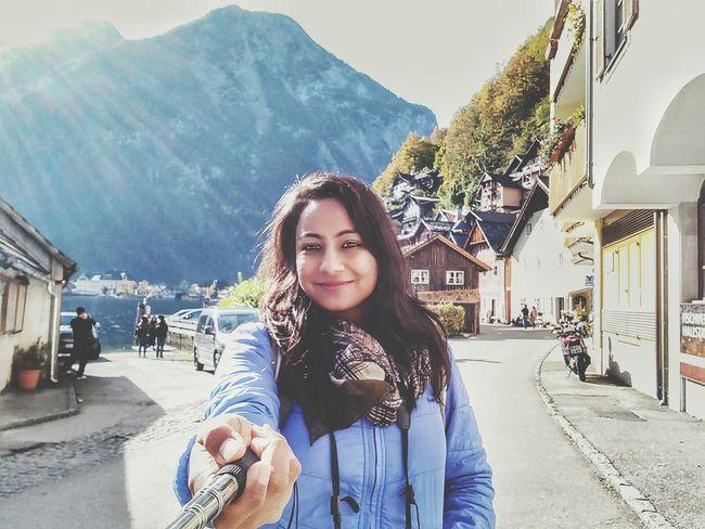 Hallstatt, Austria Selfıe Smiling