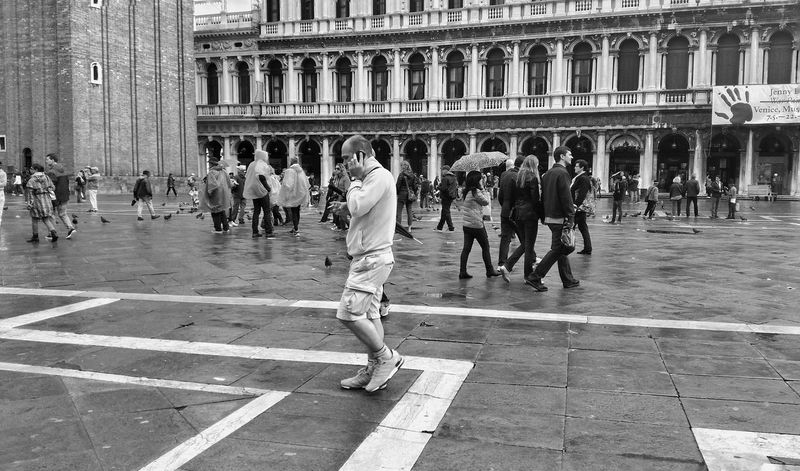 My Smartphone Life Monochrome EyeEm Best Shots Bw_ Collection Black & White Piazza San Marco Venezia Eye Em Best Shots -Black +White