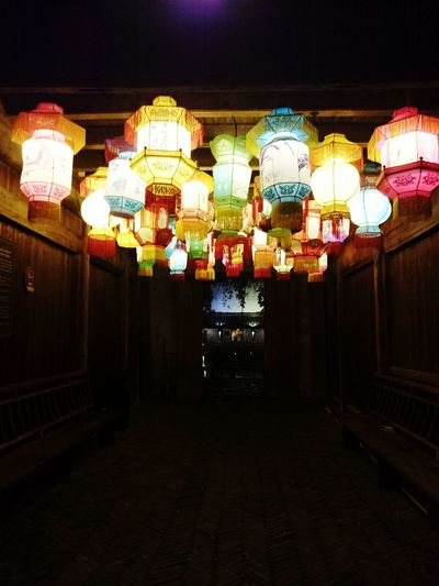 Lantern. Wuzhen Town China Culture Traditional Culture Light In The Darkness Lantern Night Lights Night View