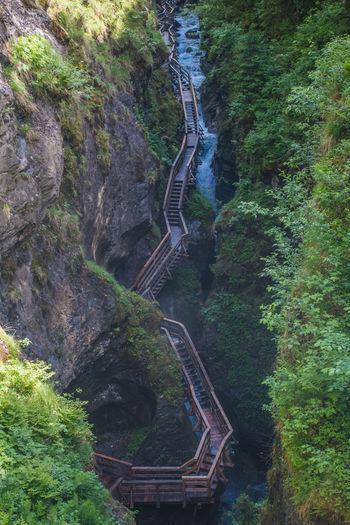 Sigmund-Thun Gorge in Austria Austria Gorge Hiking Sigmund-Thun Sigmund-Thun Klamm Travel Boardwalk Europe Forest Nature Outdoors River Scenics - Nature Water
