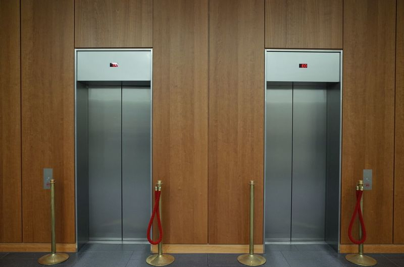Entrance Door Safety Closed Security No People Indoors  Architecture Elevator Protection