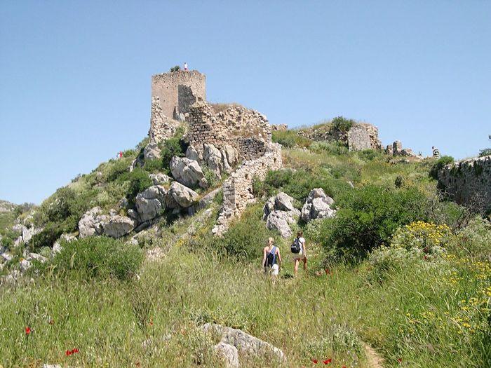 Ascending Corinth Greece 2004