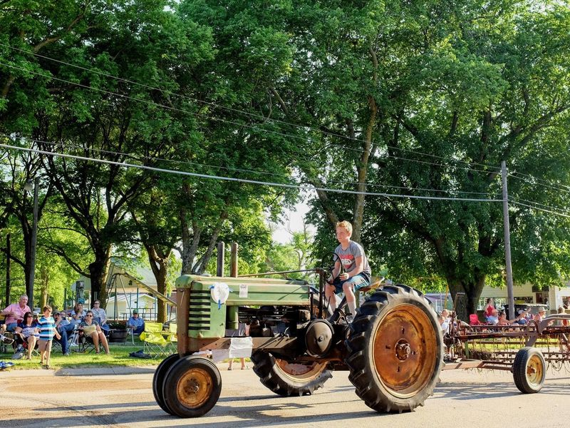 Old Settlers Picnic - Village of Western, Nebraska July 21, 2018 Americans Camera Work Community Event Getty Images Photo Essay Rural America Village Of Western, Nebraska Visual Journal Watching A Parade Adult Antique Tractor Biker Casual Clothing City Day Elementary Age Eye4photography  Full Length Incidental People Land Vehicle Lifestyles Long Form Storytelling Mode Of Transportation Motorcycle My Neighborhood Nature Old Settlers Picnic Old Settlers Picnic 2018 One Person Outdoors Parade Photo Diary Plant Real People Road S.ramos July 2018 Small Town Stories Streetphotography Summer Transportation Tree Young Adult